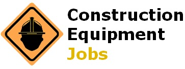 Construction Equipment Jobs Logo