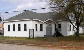 First Baptist Chruch Tivoli Texas
