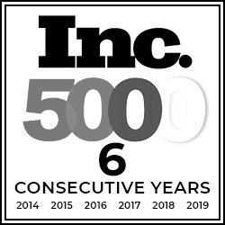 Inc 500 - Ranked 434 in 2016