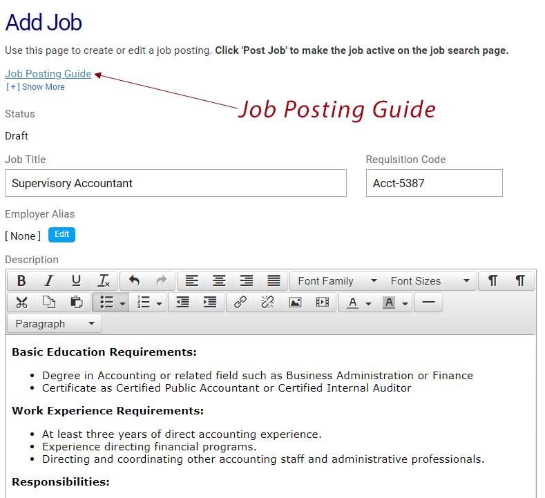 Add Job