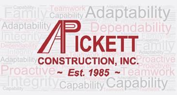 A. Pickett Construction, Inc. / Pickett Facilities